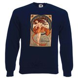 Sweat Noughty Girl - deepNavy_