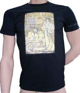 T-shirt SlaolieStyl - Zwart